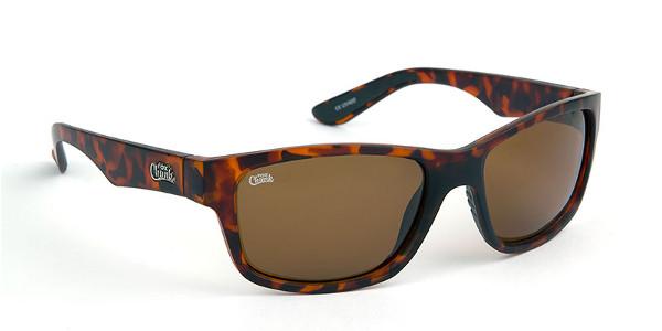 Fox Chunk Sunglasses (keuze uit 3 opties) - Tortoise Frame/Brown Lens