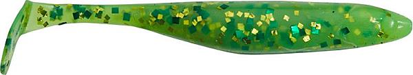 "Illex Magic Fat Shad 4"", 10 stuks (keuze uit 6 opties) - Lime Chartreuse"
