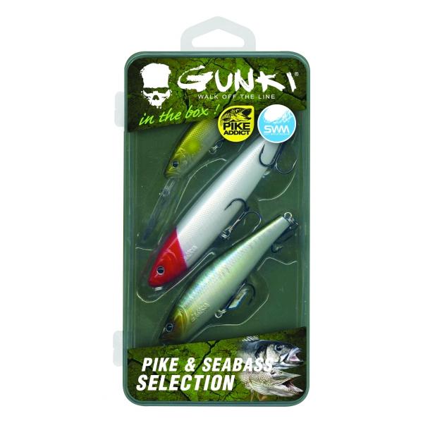 Gunki Box Snoek & Zeebaars Selectie (bevat 3 pluggen)