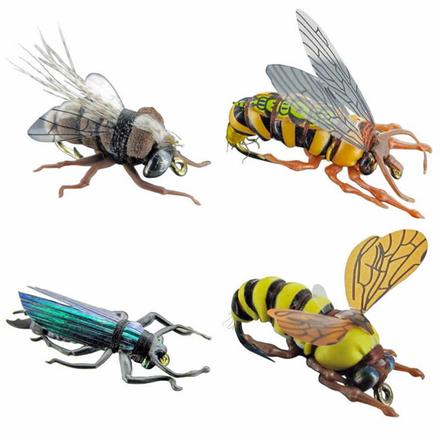 Jenzi Imitatie Insecten 4 stuks