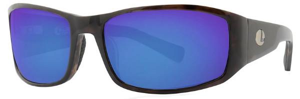 Lenz Optics Nordura Polarised Sunglasses (keuze uit 4 opties) - Black Coffee w/Blue Mirror