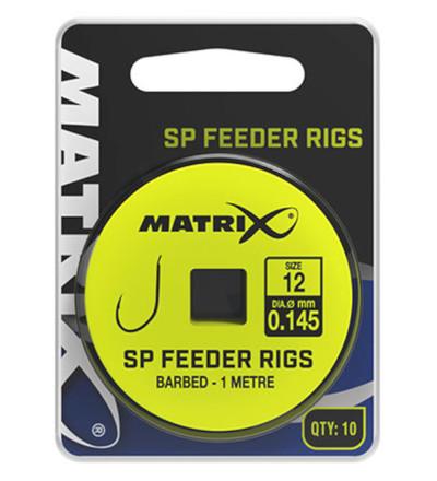 Matrix 1m SP Feeder Rigs 10 stuks (Keuze uit 6 opties)