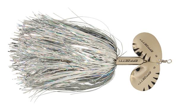 Effzett Pike Rattlin' Spinner (keuze uit 7 opties) - Silver