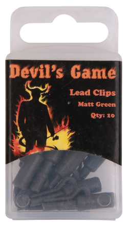 B. Richi Lead Clips Matt Green 10pcs