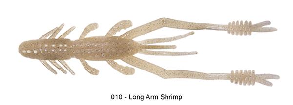 """Reins Ring Shrimp 5"""", 7 stuks (keuze uit 5 kleuren)"""