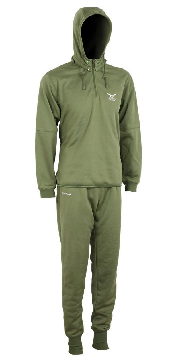 Mikado Thermo Hoody Set Green (keuze uit L t/m XXXL)