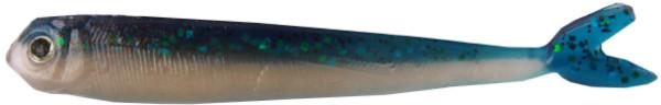 "Fishbelly Hawg Shads Split Tail 2,8"", 7 stuks (keuze uit 14 opties) - June Bug"