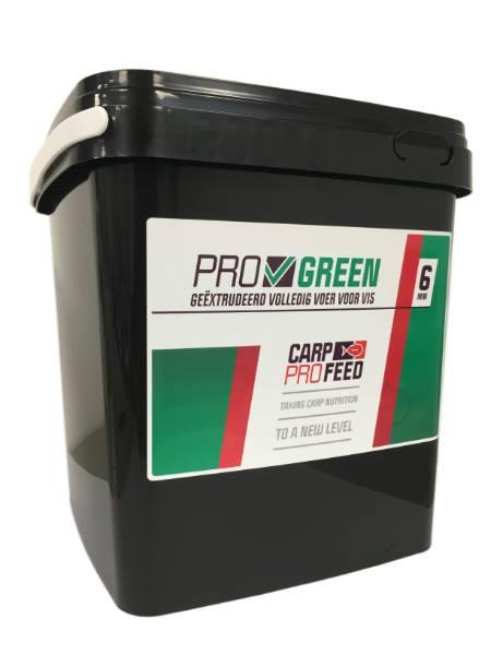 Carp Pro Feed Pellets 6mm (keuze uit 3 opties) - Green