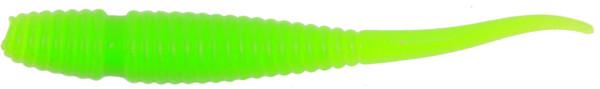 Quantum Magic Trout Worm Tail 45mm, 15 stuks (keuze uit 5 opties) - Green