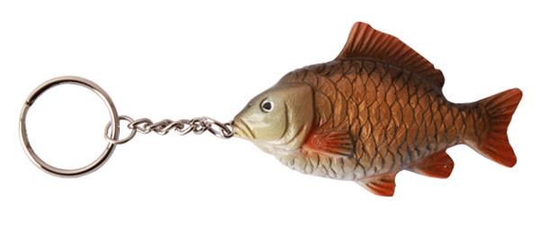 Real Trophy Sleutelhanger (keuze uit 7 vissoorten) - Common Carp