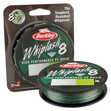 Berkley Whiplash 8 Green 0.06mm 150m