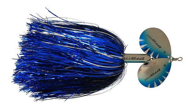 Effzett Pike Rattlin' Spinner (keuze uit 7 opties) - Silver/Blue