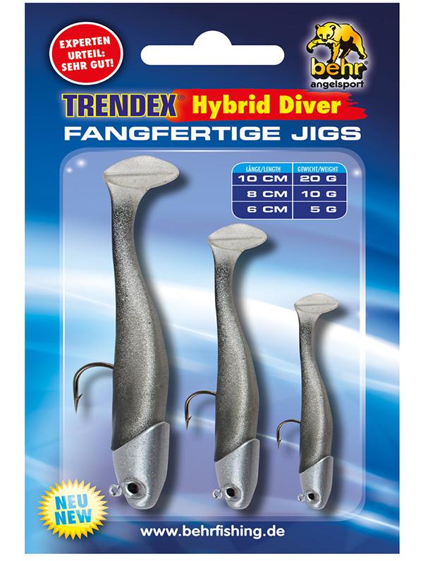 Behr Trendex Hybrid Diver Set (keuze uit 5 verschillende kleuren) - Behr Trendex Hybrid Diver Set 1