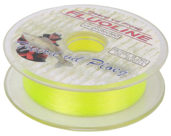 Tjeerd vd Ploeg Fluoline nylon, 150m (keuze uit 6 opties)