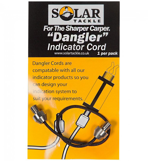 Solar Stainless Ended Black Cord (keuze uit 3 opties)