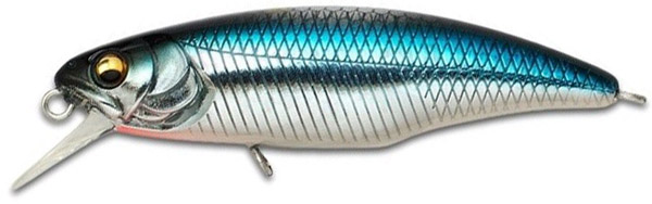 Megabass Great Hunting Worldspec 52S & 52F (keuze uit 14 opties) - M Blue Shiner