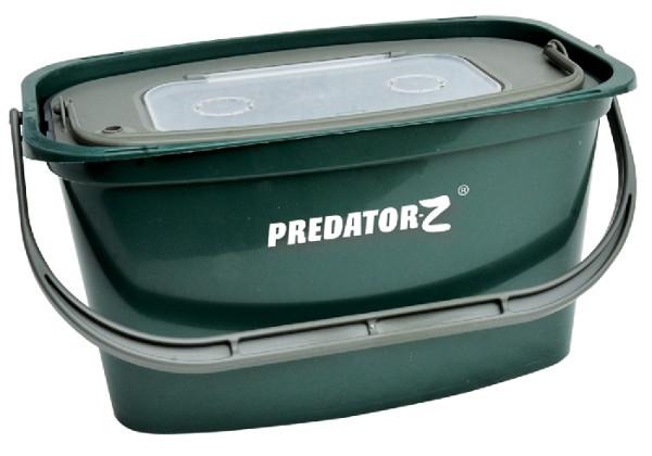 Predator-Z Baitfish Set met emmer, zuurstofpomp en netje