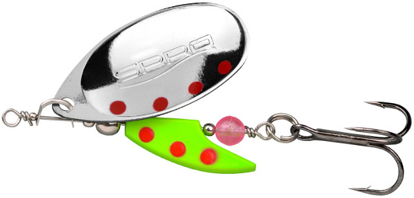Spro Axe French Blade Spin 10gr (keuze uit 6 opties) - Fluo Green