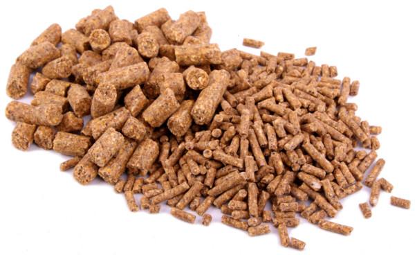 Bulkverpakking 20kg Baby Corn Mais Pellets in 3 of 8mm (keuze uit 6 smaken) - Hemp