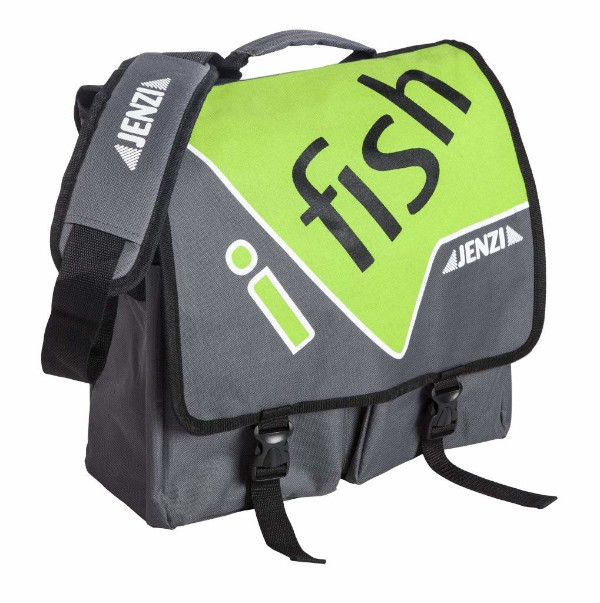 Jenzi I-Fish Shoulder Bag Green