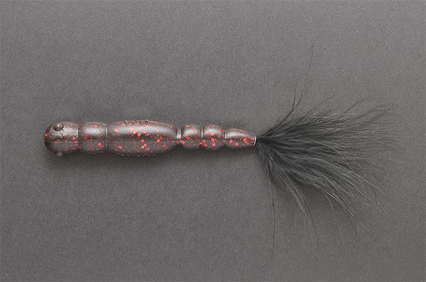 Megabass Ya-Manba (keuze uit 11 opties) - Black Red
