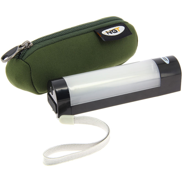 NGT Bivvy Light Large + NGT Dynamic Cree Hoofdlamp - NGT Bivvy Light Large