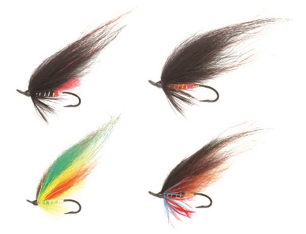 Kinetic Salmon Flies 1, 4 stuks