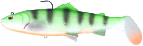Savage Gear 3D Trout Rattle Shad 27,5cm (keuze uit 6 opties) - Firetiger