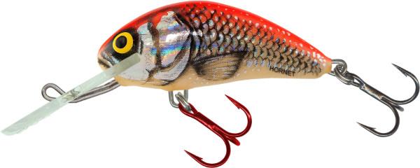 Salmo Hornet 5cm, USA kleuren! (keuze uit 23 opties) - Silver Red Orange