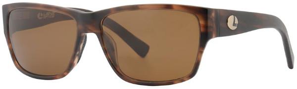 Lenz Optics Dee Polarised Sunglasses (keuze uit 4 opties) - Havanna w/Brown Lens