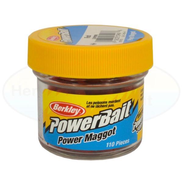 Berkley Powerbait Micro Power Maggots (keuze uit 3 opties)