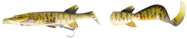 Savage Gear 3D Hybrid Pike 17 & 25cm (keuze uit 5 opties) - Muddy Pike