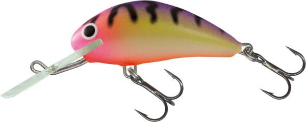 Salmo Hornet 5cm, USA kleuren! (keuze uit 23 opties) - Uv Bubblegum Stripe