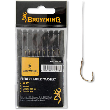 Browning Feeder Master hook-to-nylon (Keuze uit 11 opties)
