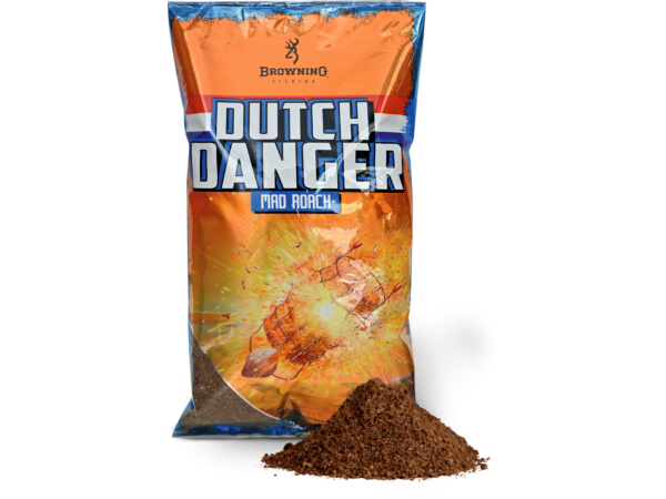 Browning Dutch Danger Groundbait, 3 zakken á 1.0kg (keuze uit 3 opties) - Browning Dutch Danger Groundbait 1.0kg - Mad Roach: