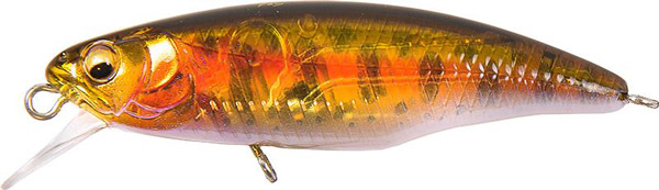 Megabass Great Hunting Worldspec 52S & 52F (keuze uit 14 opties) - Seethrough Yamame