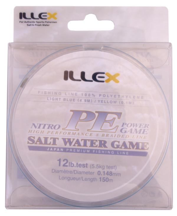 Illex Nitro PE Power Game High Performance Braid (keuze uit 3 opties)