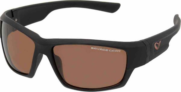 Savage Gear Shades Floating Polarized Sunglasses (Keuze uit 4 opties) - Shades Amber