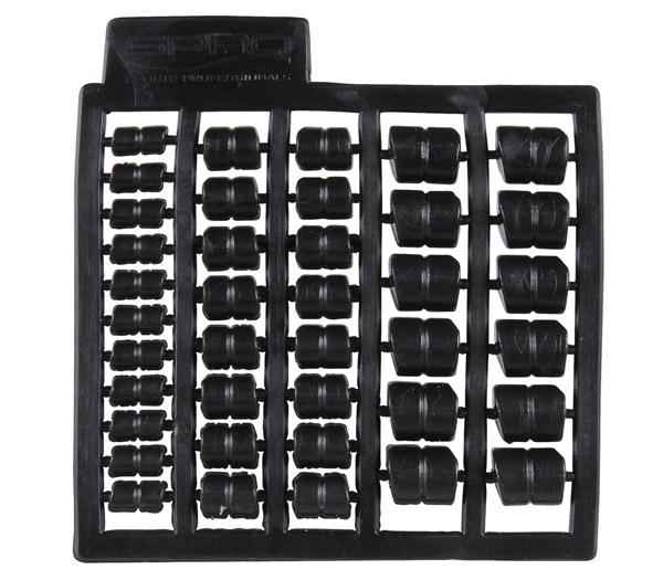 Spro Cresta Speed Pellets (keuze uit 5 opties) - Black