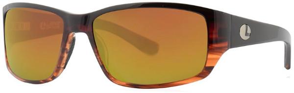 Lenz Optics Helmsdale Polarised Sunglasses (keuze uit 4 opties) - Black/Tortoise w/Copper Mirror
