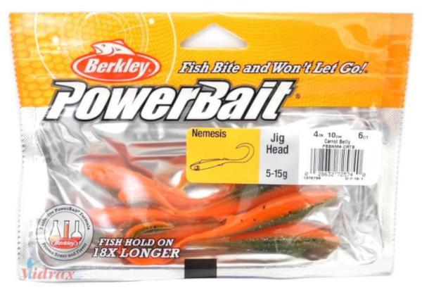 Berkley Powerbait Nemesis 10cm 6 stuks