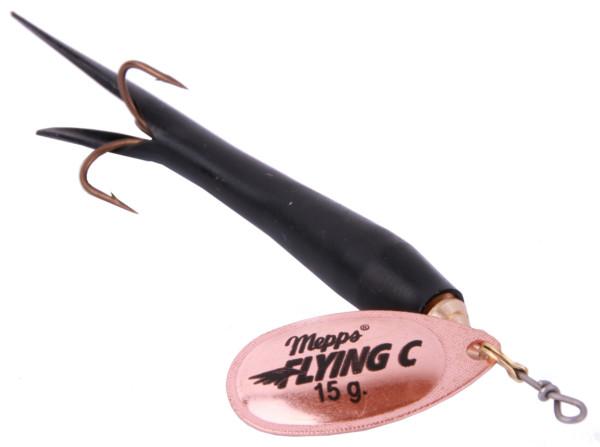 Mepps Aglia Fly C Black/Copper (keuze uit 2 opties)