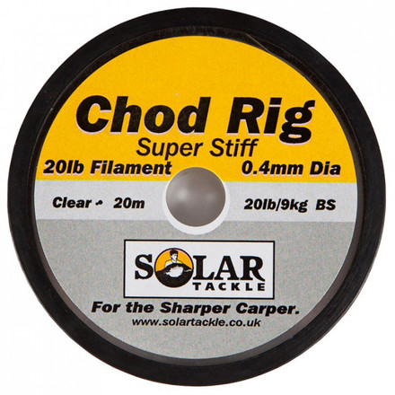 Solar Super Stiff Chod Hooklink 20lbs