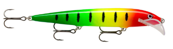Rapala Scatter Rap Husky 13 (Keuze uit 20 opties) - Red Yellow Green Stripe: