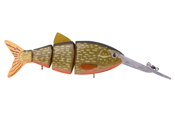Spro Swimbait BBZ-1 Crank-N-Shad (Keuze uit 10 opties) - Orange Belly Pike
