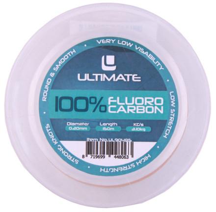 Ultimate 100% Fluoro Carbon, 150m (keuze uit 7 opties)