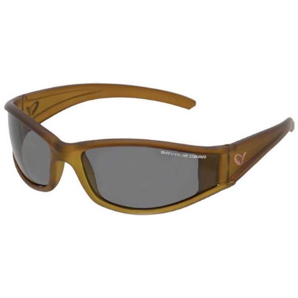Savage Gear Shades Floating Polarized Sunglasses (Keuze uit 4 opties) - Slim Shades Dark Grey