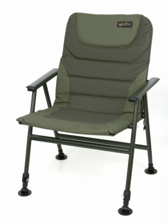 Fox Warrior 2 Compact Chair + 6-Delige Baiting Tool Set