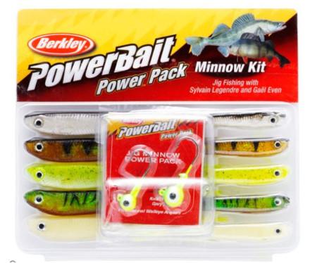 Berkley Powerbait Minnow Pro Pack (12-delig)