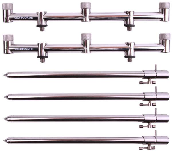 Ultimate Stainless Steel 3 Rod Goalpost Kit